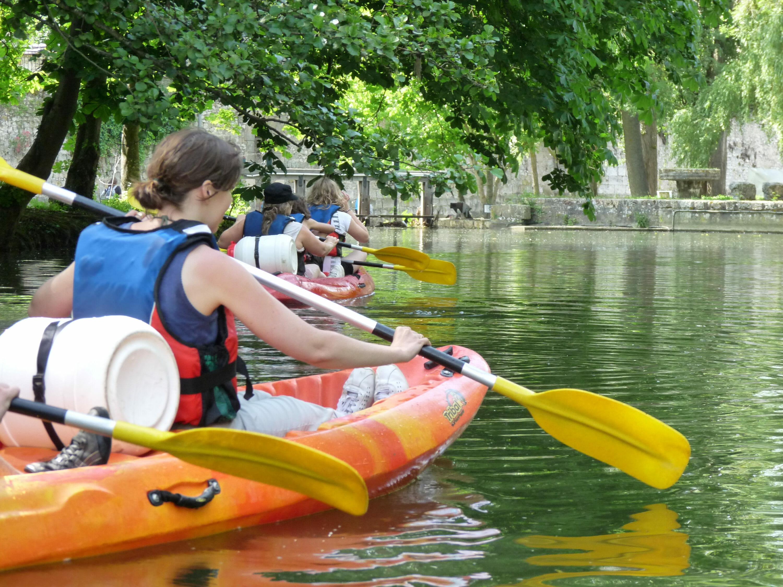 Descentes du Loing en canoë kayaks