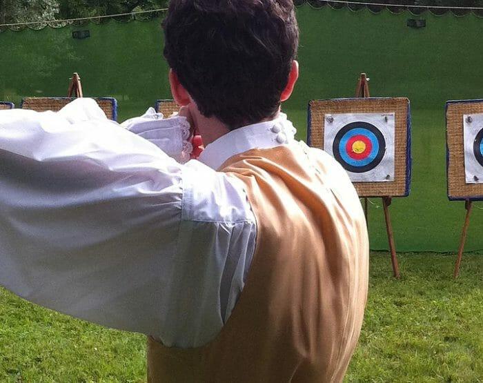 Pratique du tir à l'arc