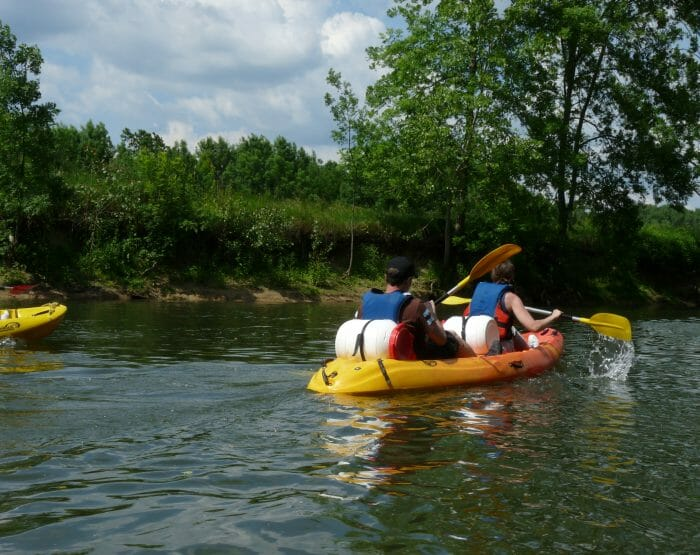 L'occasion de découvrir notre belle région et quelques passages sauvages, accessibles uniquement par la rivière.