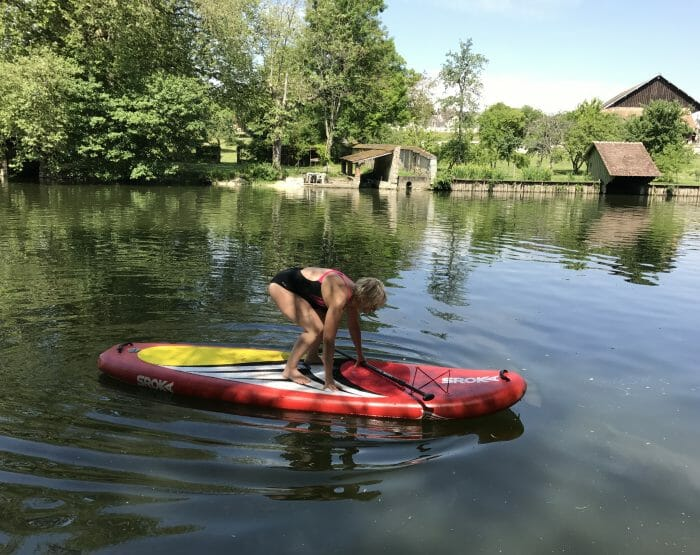Les debuts en Stand Up Paddle