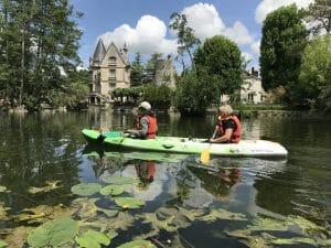 Canoe à Moret sur Loing
